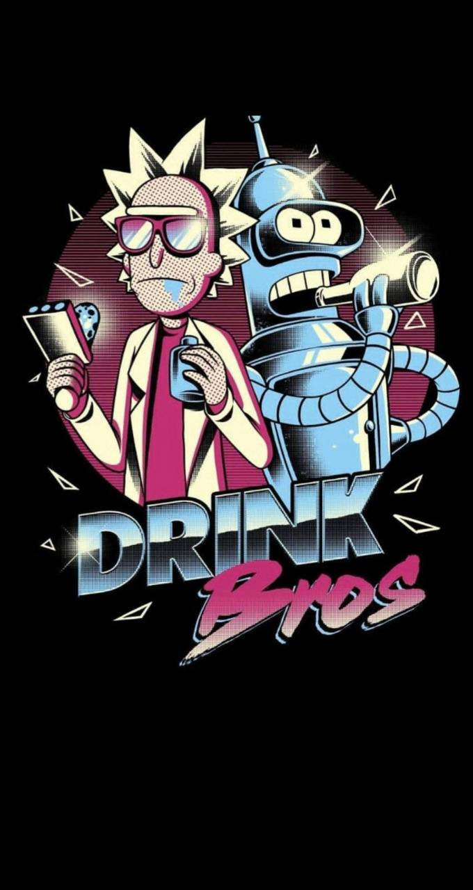Rick and Bender wallpaper by