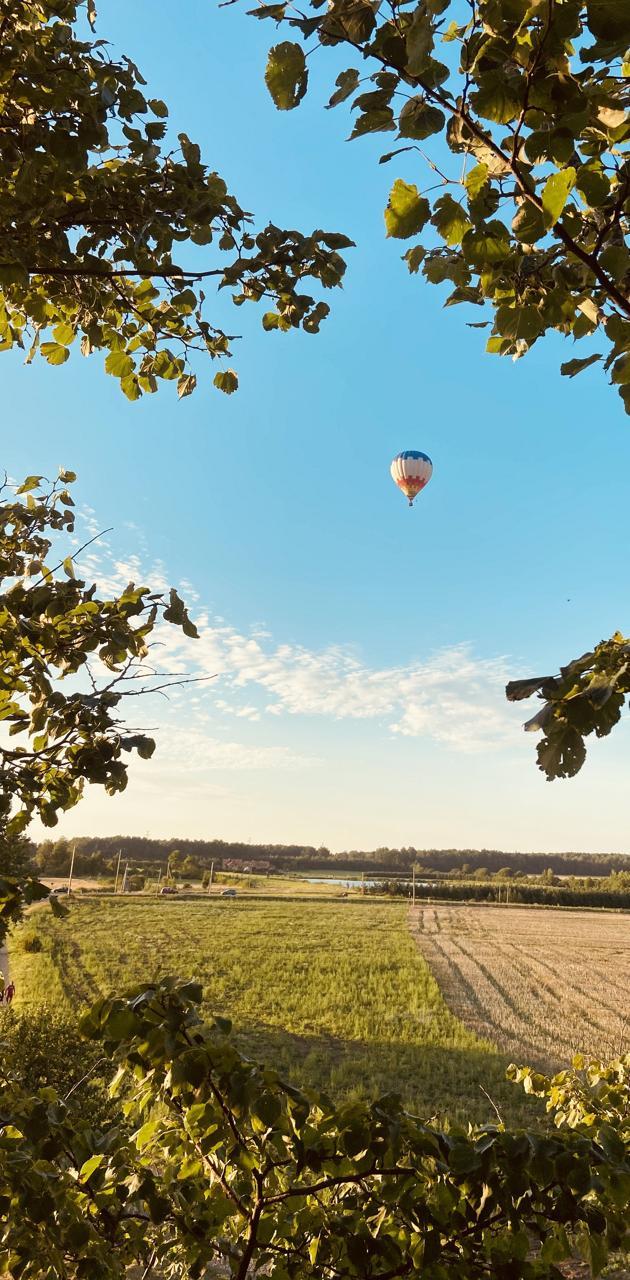 Ballon in the sky