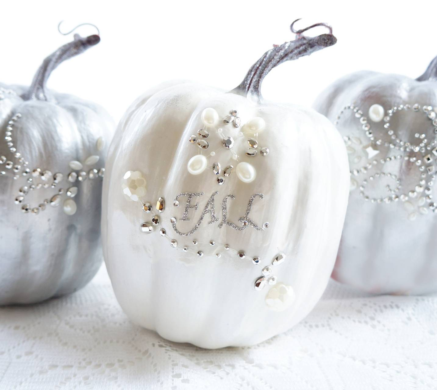 glam pumpkins