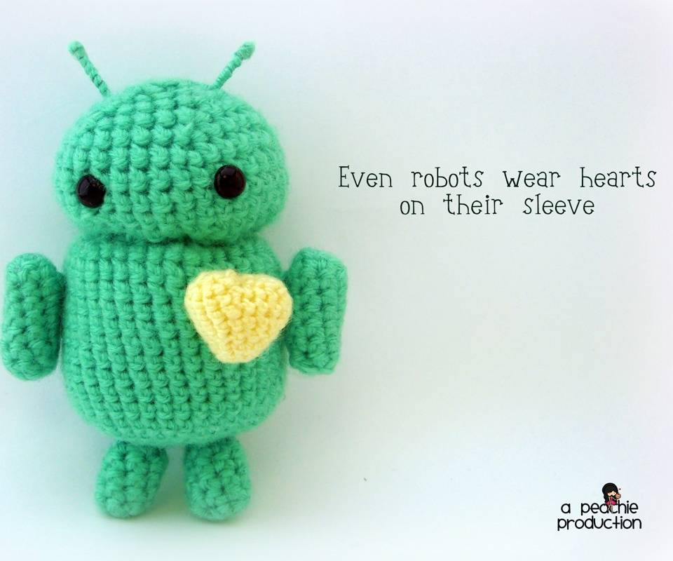 Knitted Android