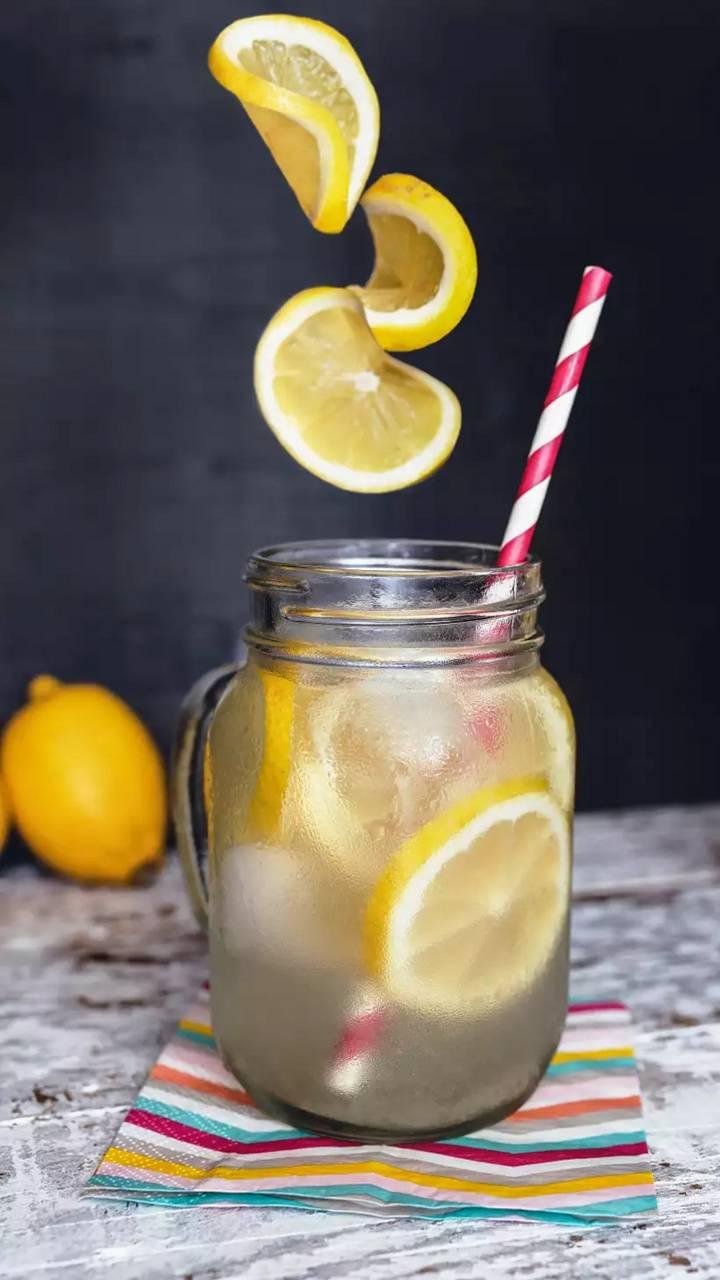 cold lemon juice