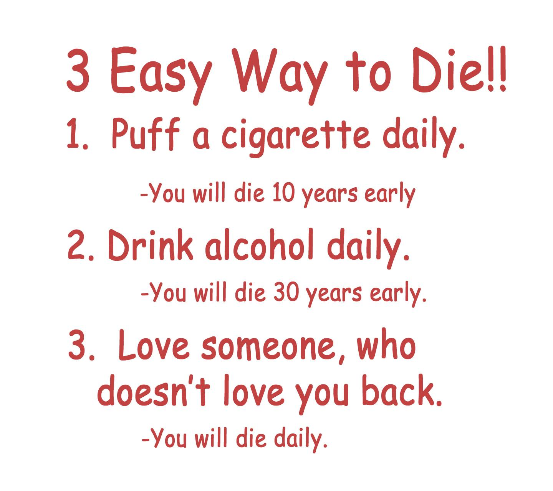 3 Easy Way To Die