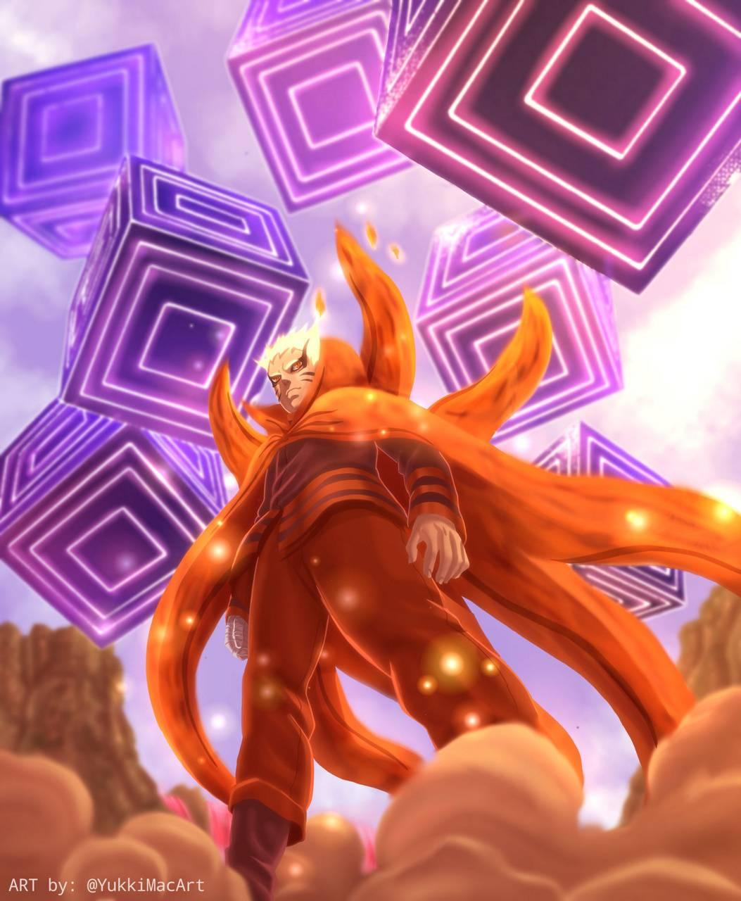 Naruto Baryon Mode Wallpaper By Rakariftiansyah De Free On Zedge
