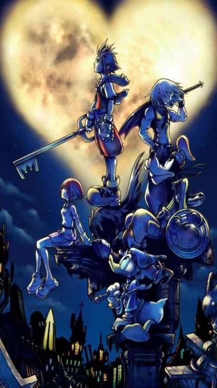 Kingdom Hearts Wallpapers Free By Zedge