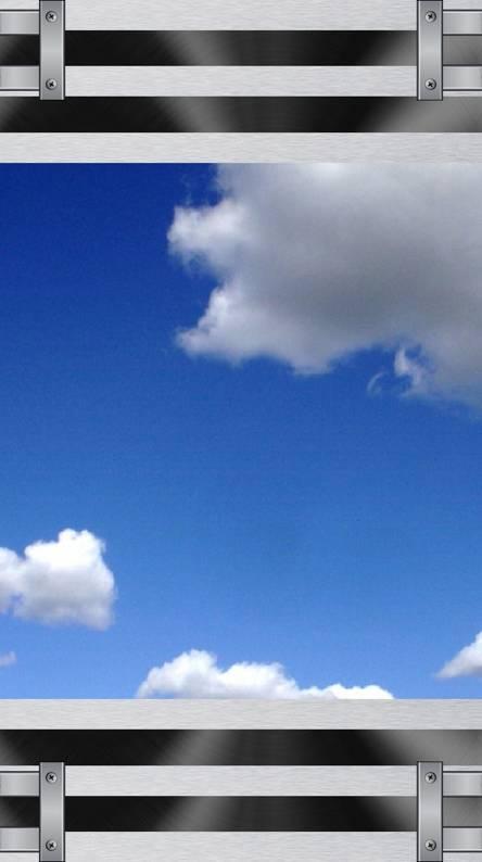 Cloudy frame