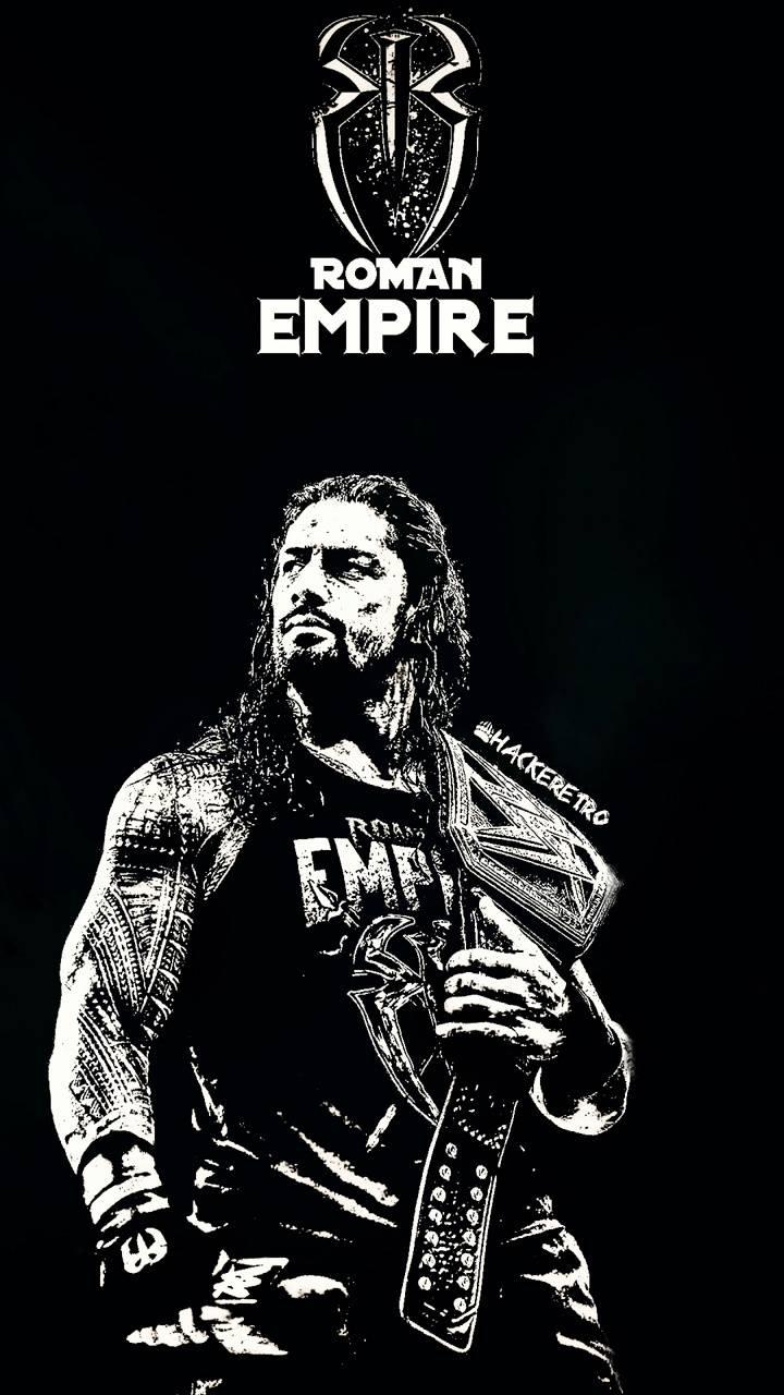 Roman Reigns B-W