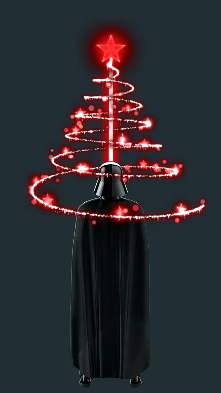 darth christmas tree
