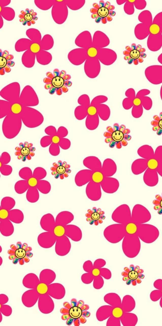 Trippy flowers