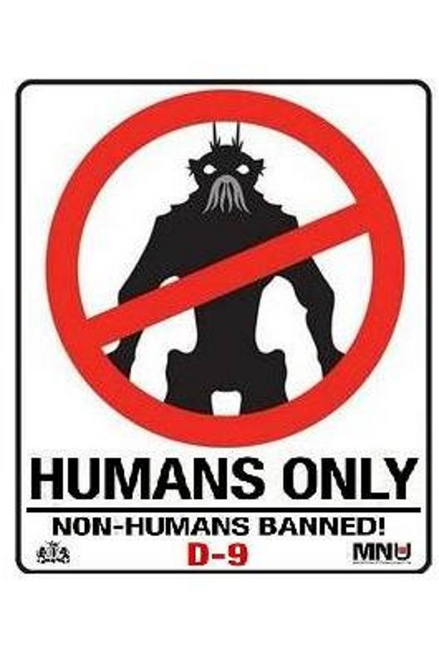 D-9 Human Only