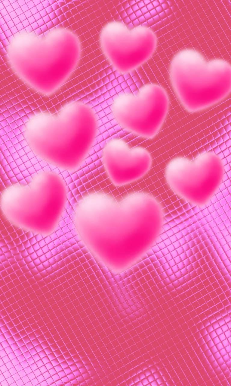 LOVE Hearts HD Wallpaper By Druffix2