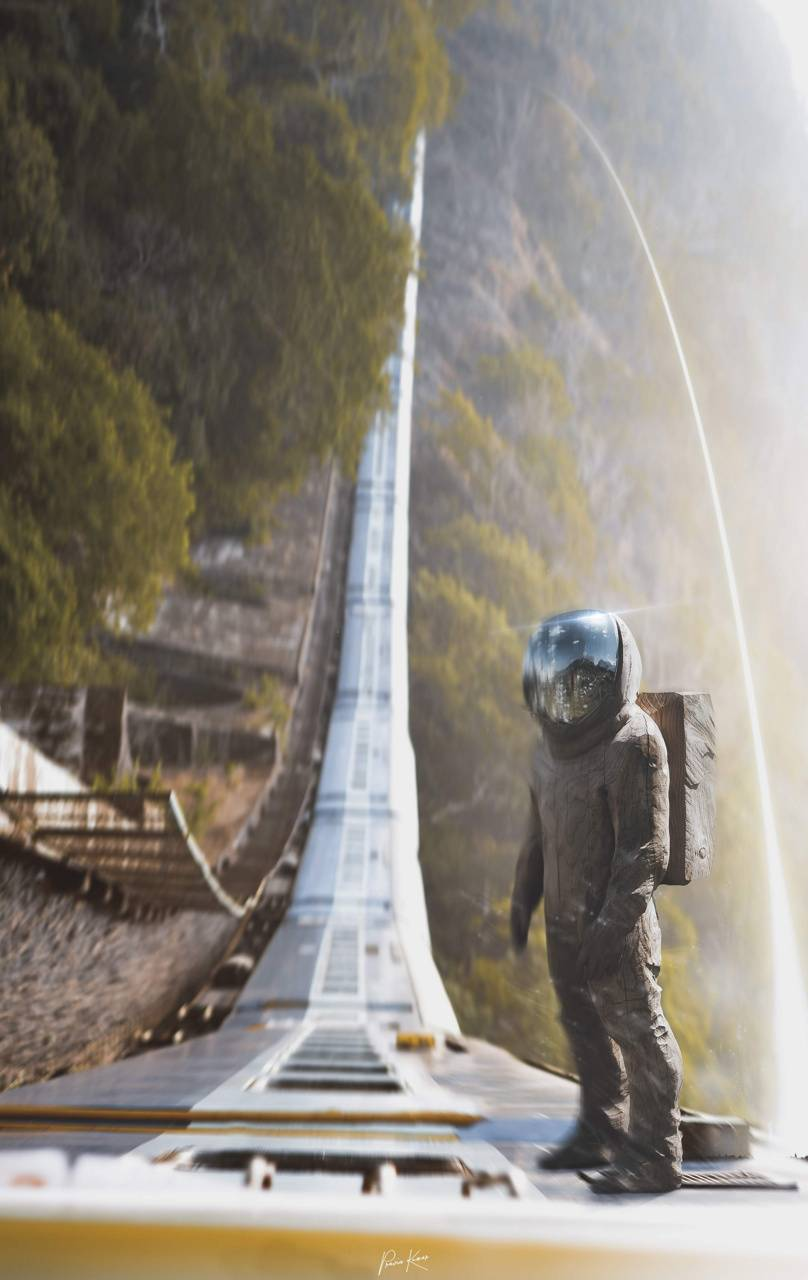 Astronaut Train