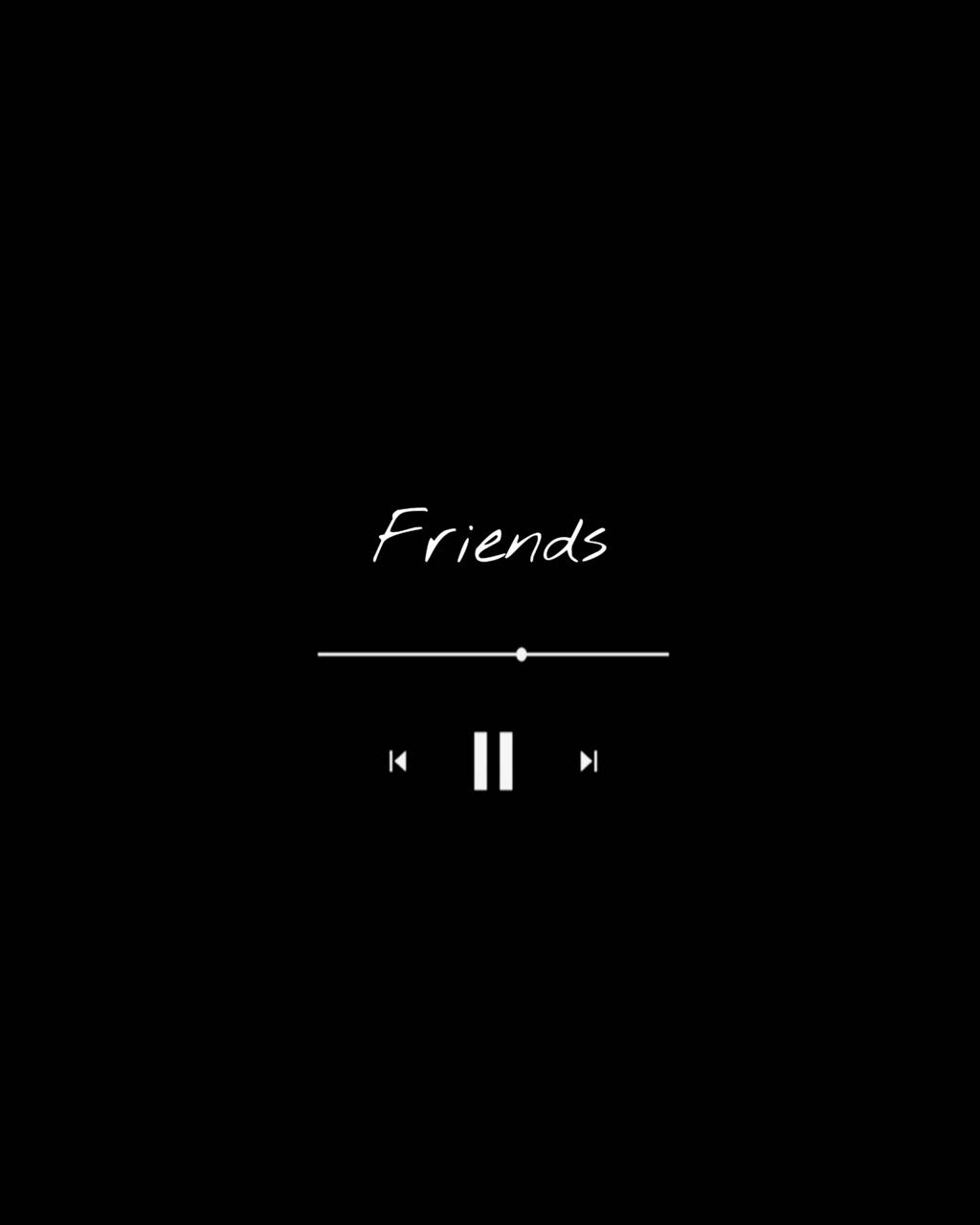listening to friends