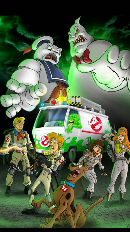 Ghostbusters Scooby
