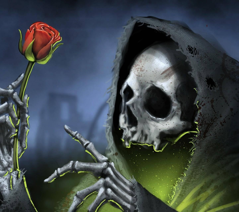 grim reaper rose