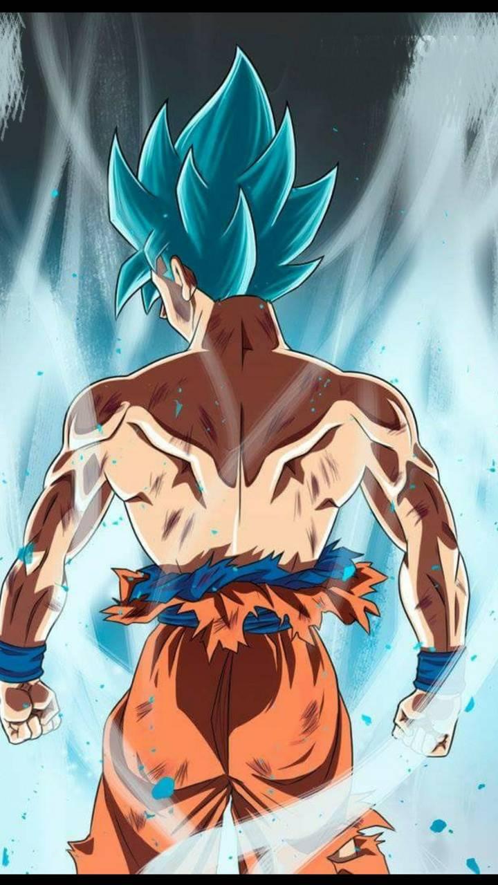 Goku god blue