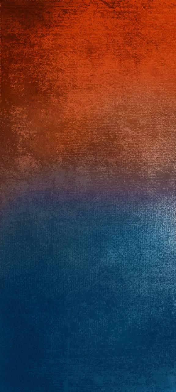 Orange to Blue