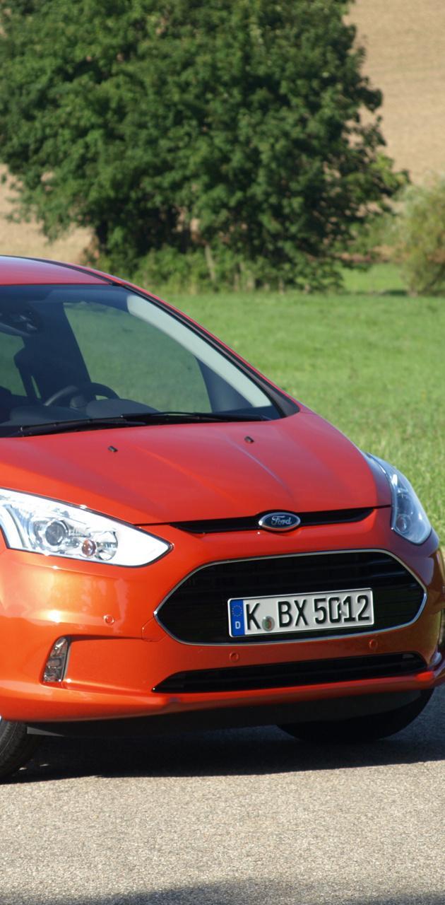 Ford B-Max Orange