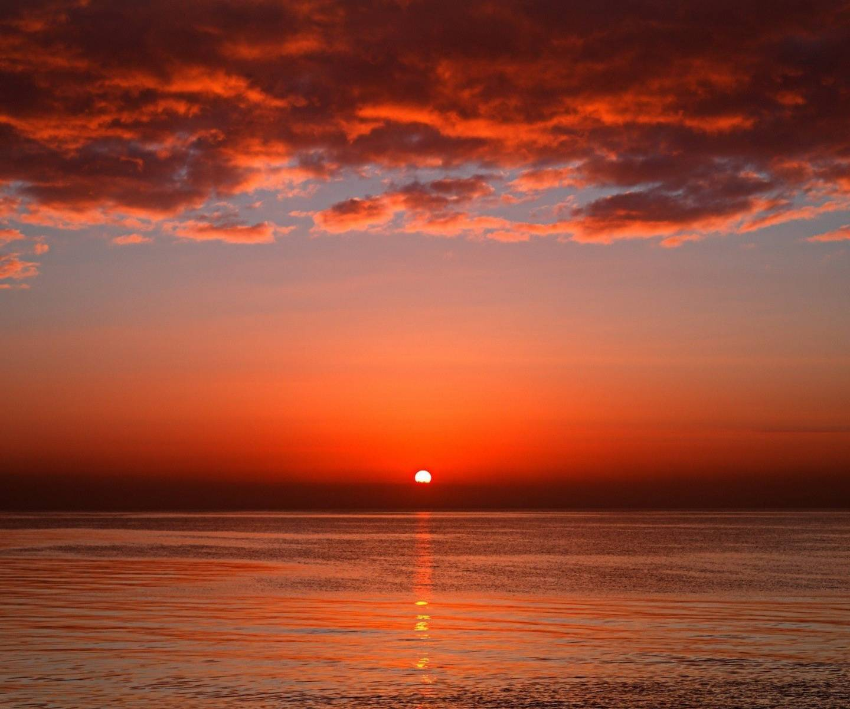 Ocean Sun Set