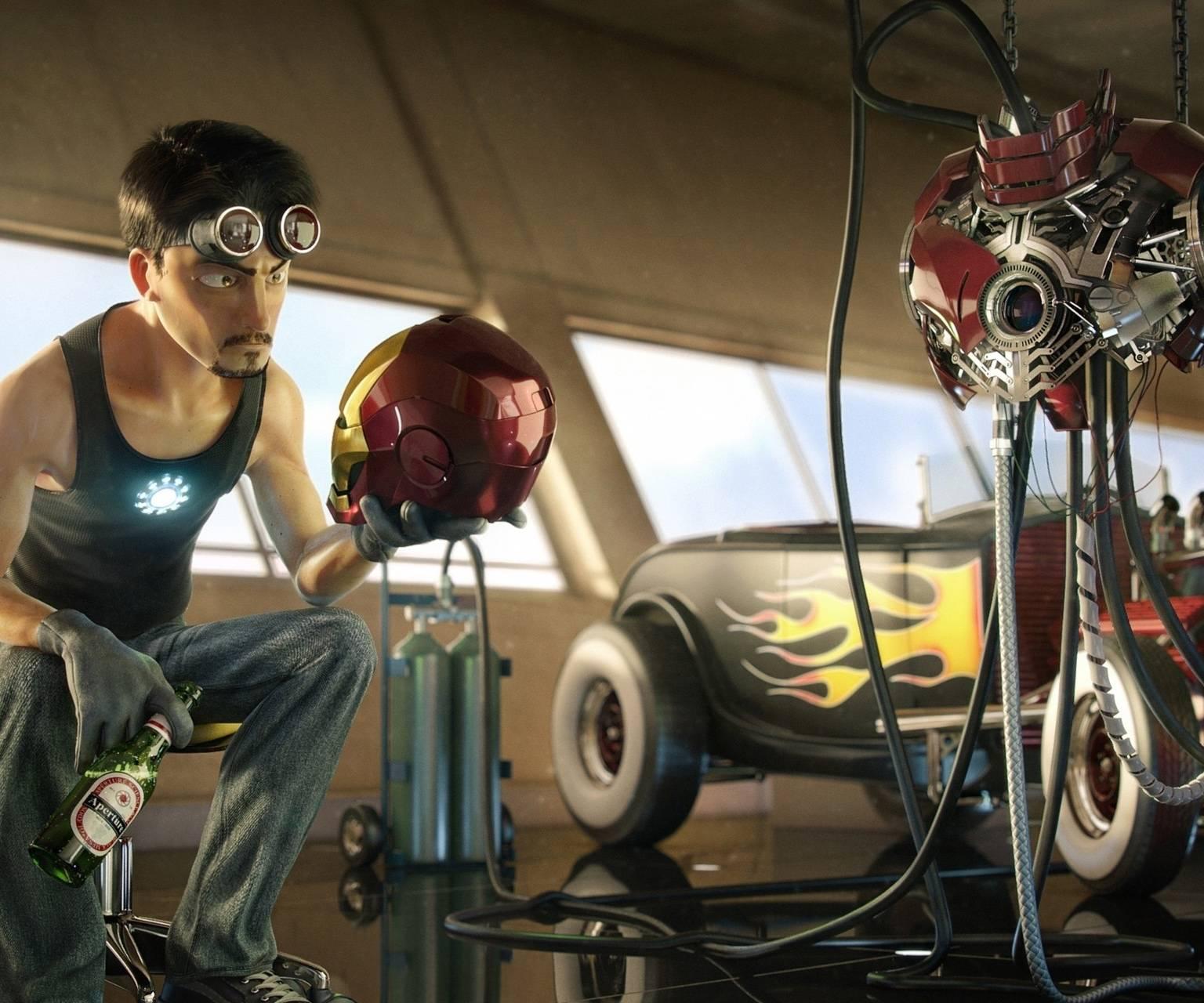 Tony Stark Animation