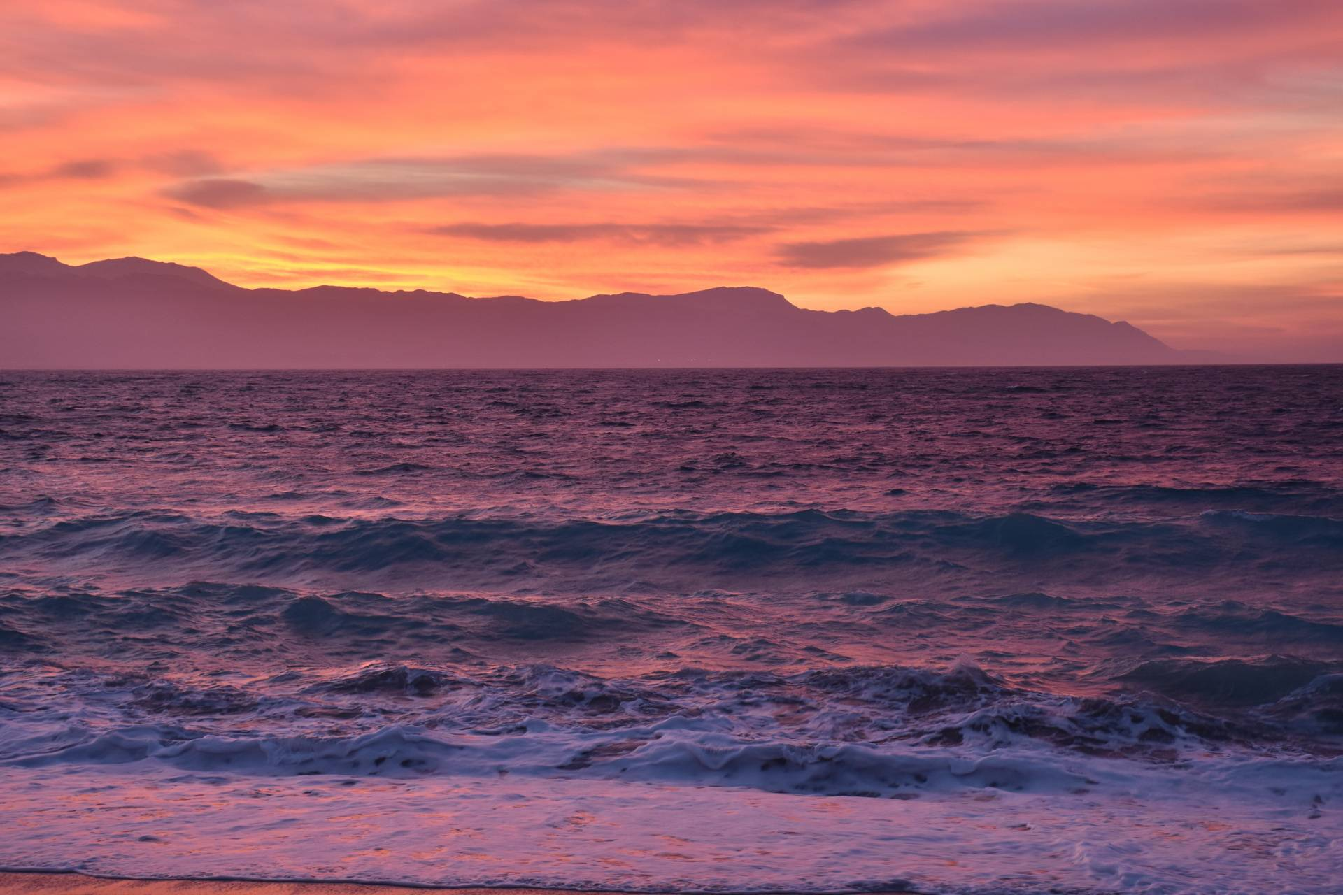 Red Sunset Loutraki