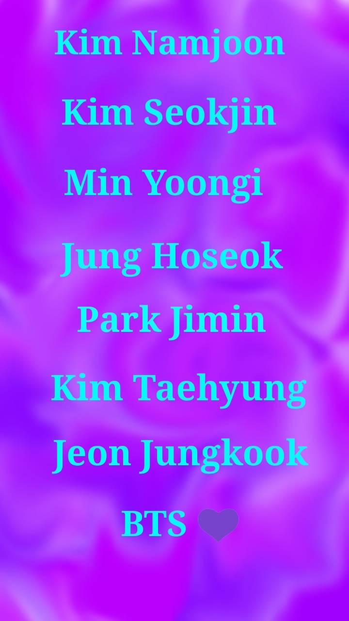 BTS purple wallpaper