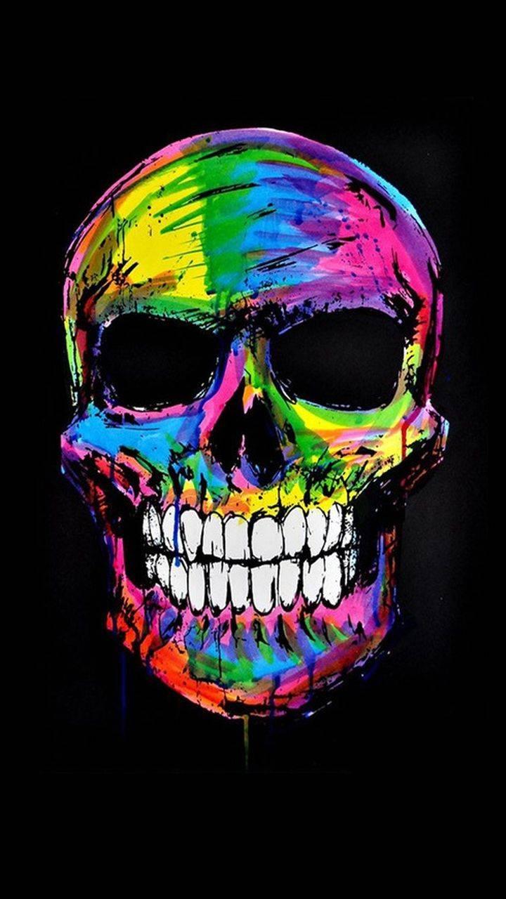 colours skull