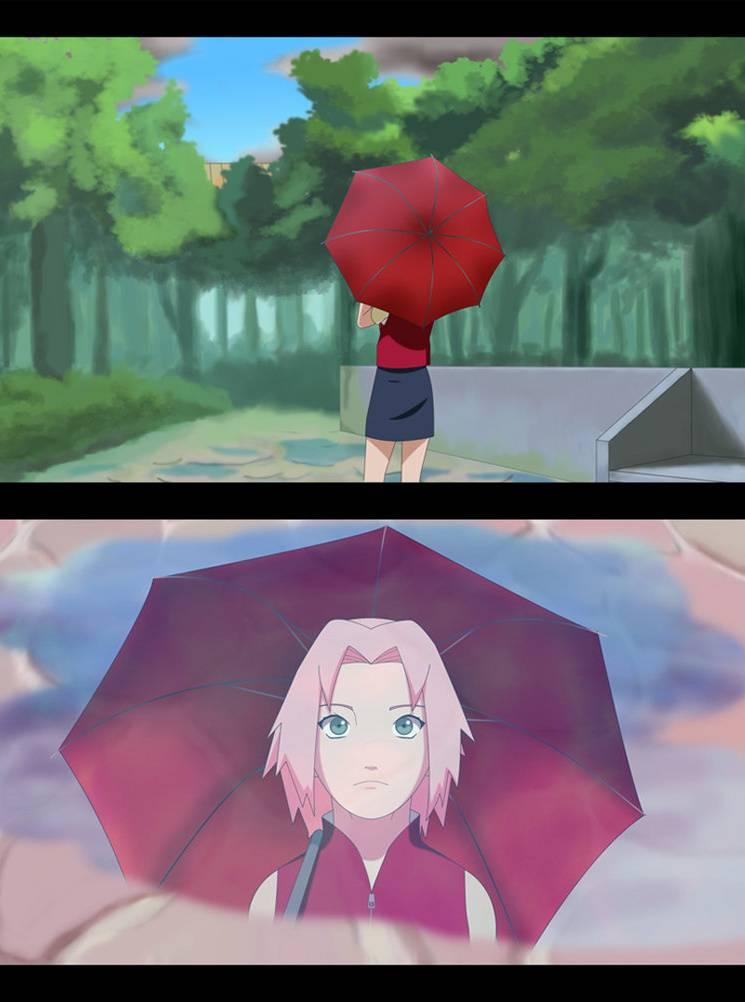 Sakura After Therain