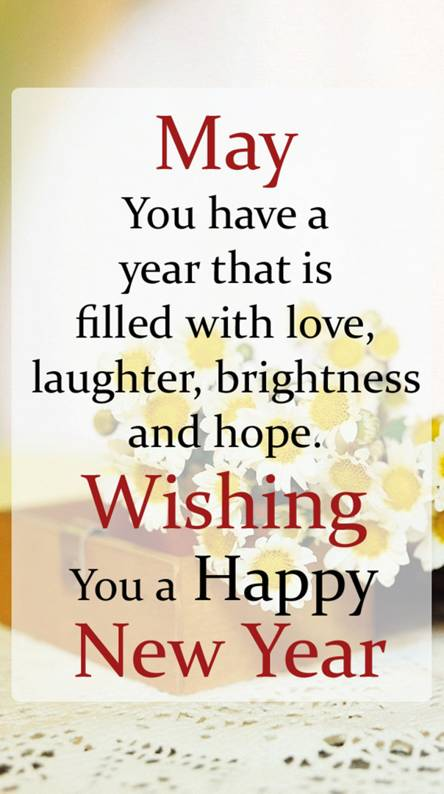 Wishes New Year