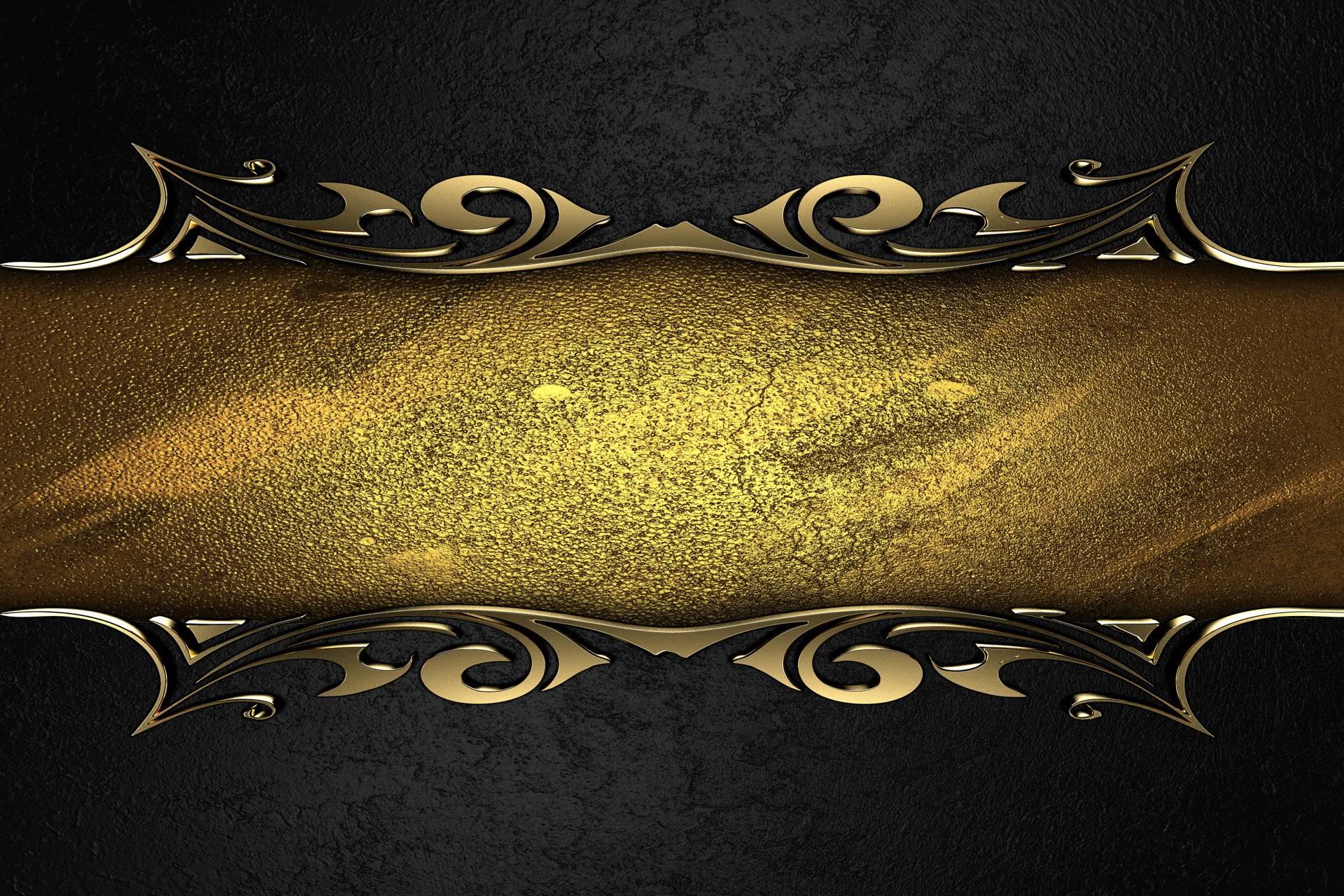 Black Gold Elegance