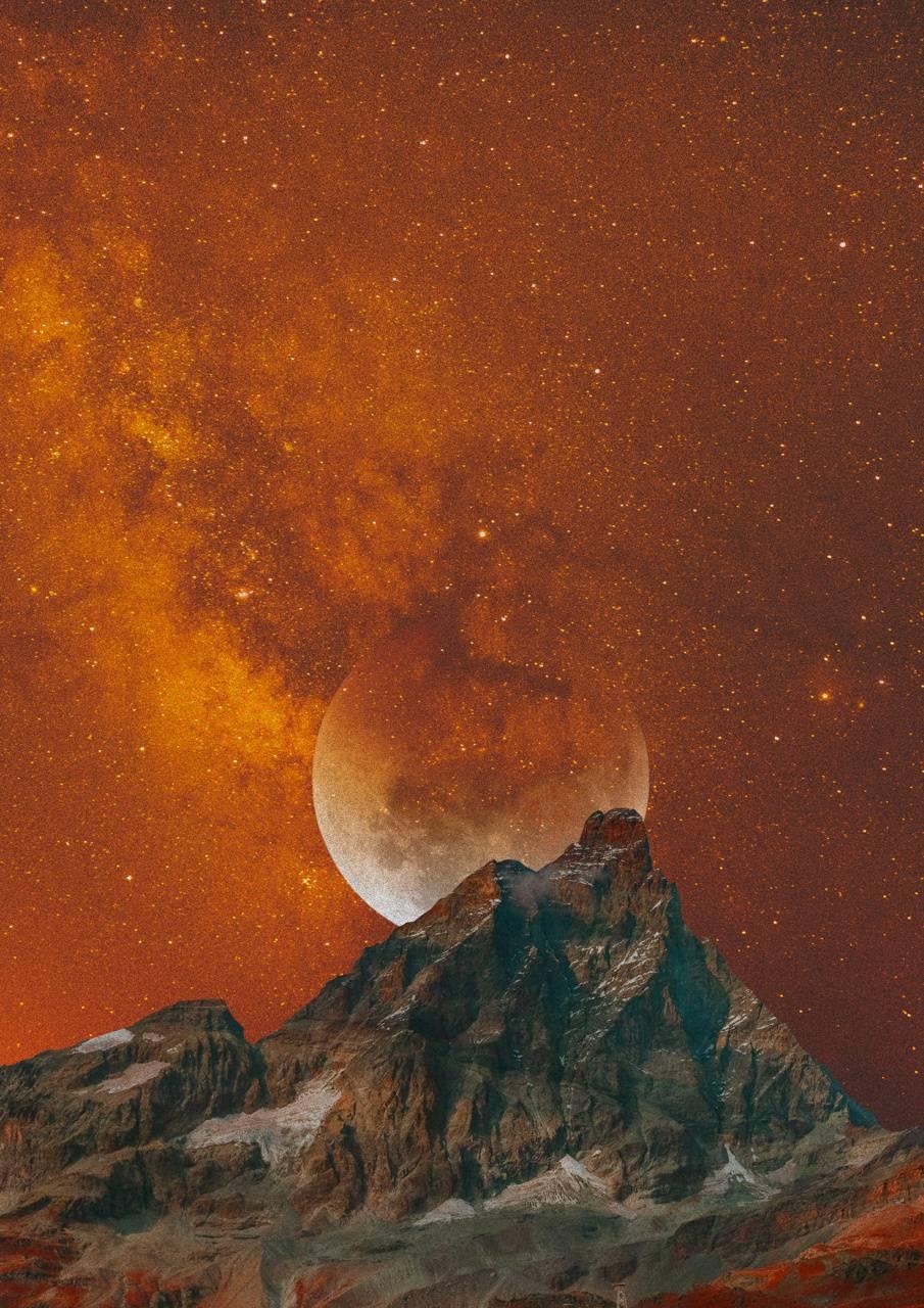 Mars view