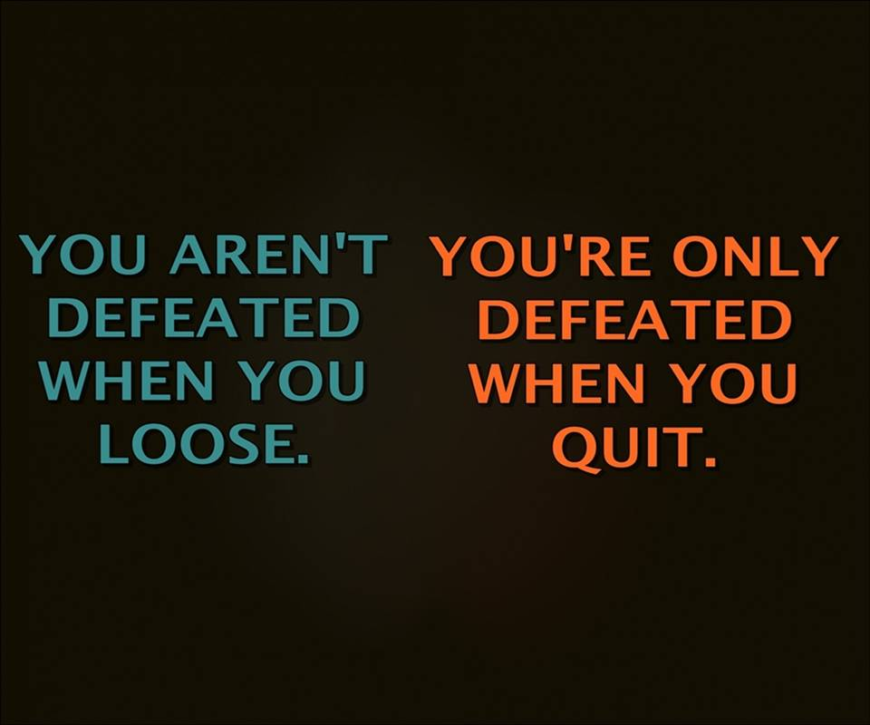 loose and quit