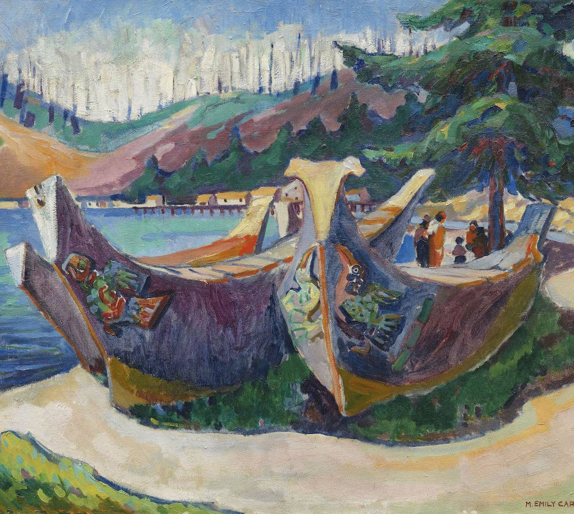 War Canoes