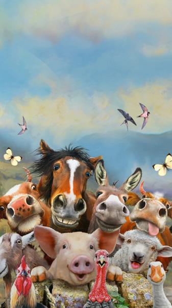 Animals Selfie