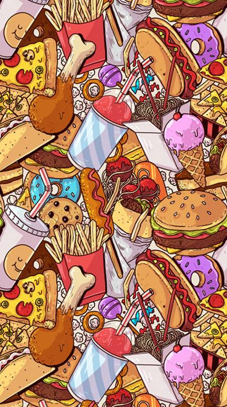 Junk Food Ringtones And Wallpapers Free By Zedge
