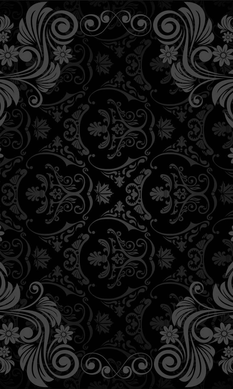 Black Pattern Hd
