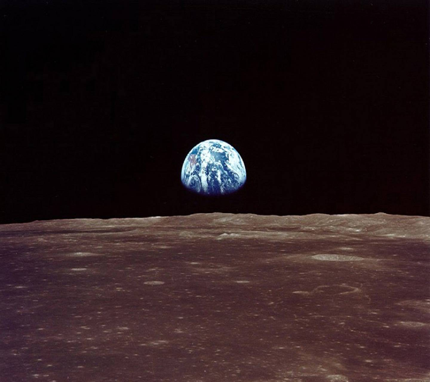earth from the moon - HD1440×1280