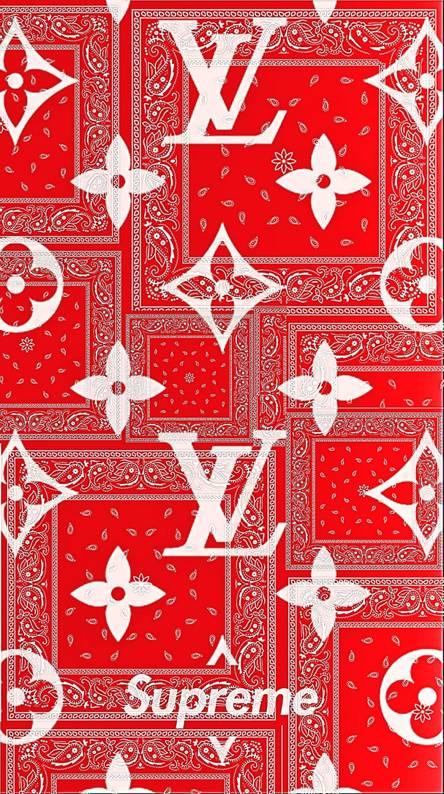 red bandana wallpaper