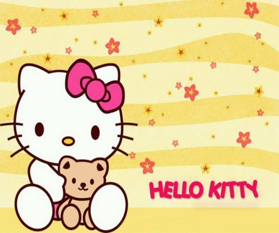 Kitty With Bear