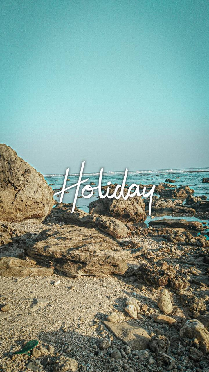 Holiday in the beach