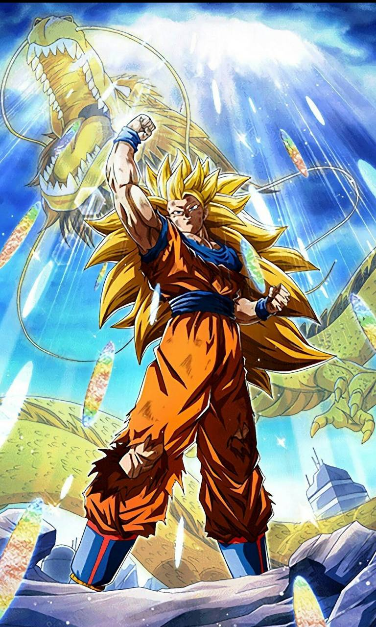 LR SSJ3 Goku