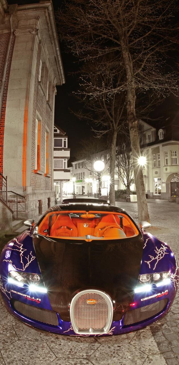 Tuned Bugatti