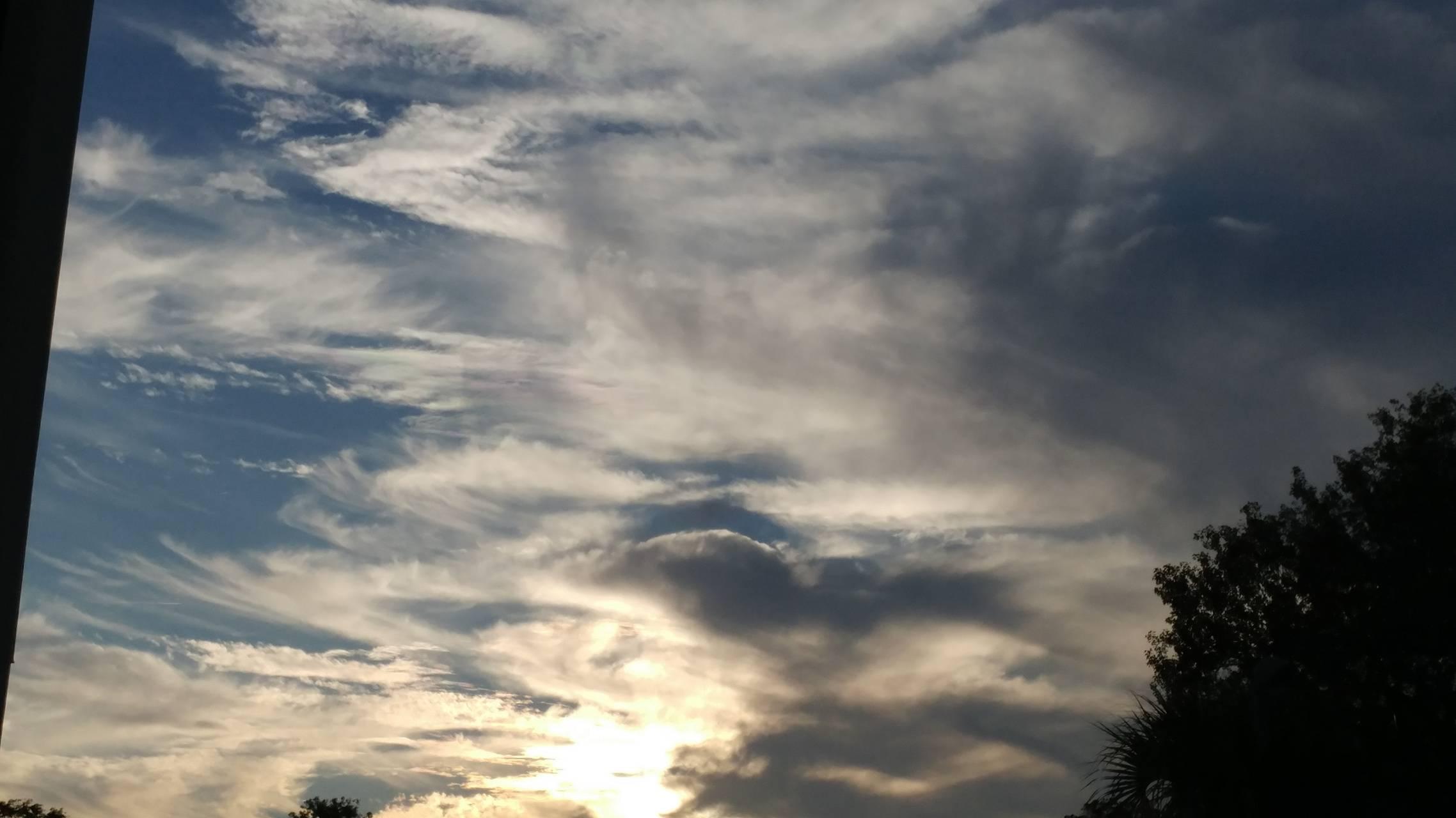 Mean looking clouds