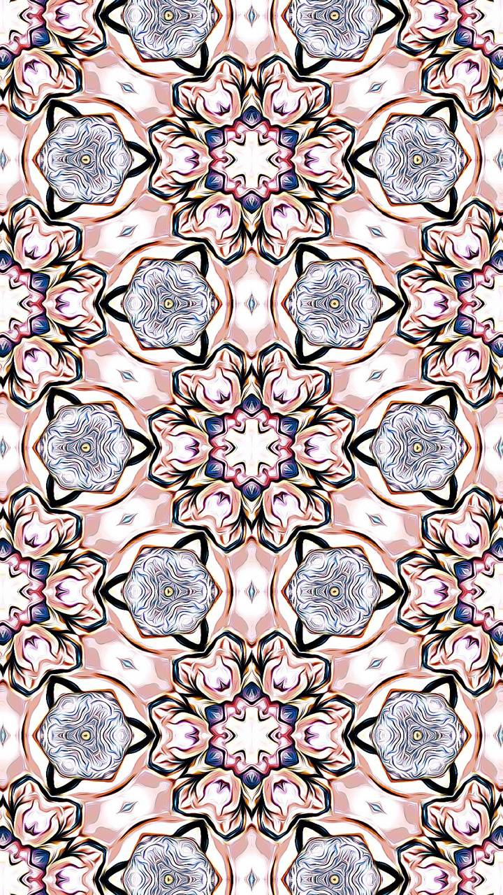 Pink Mandalas
