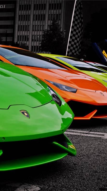 Lamborghini Lineup