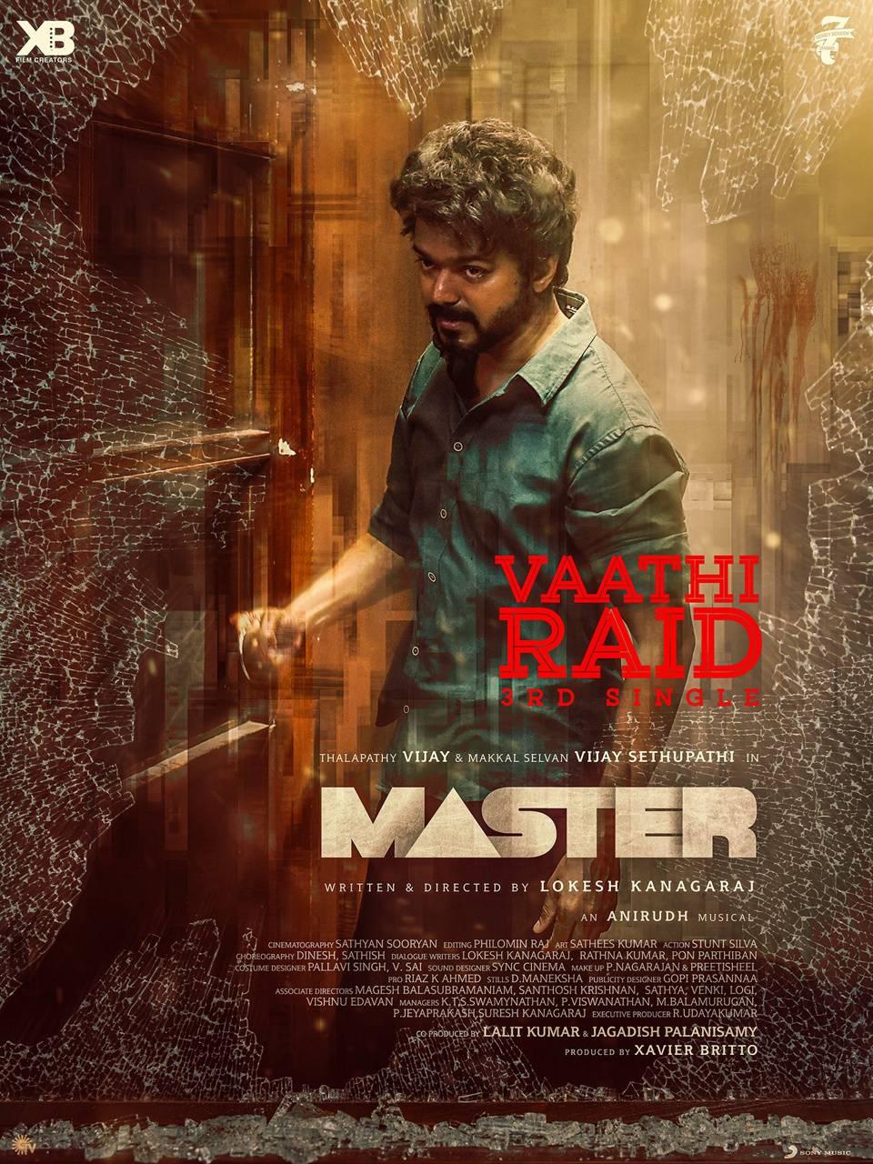 Master vaathi raid