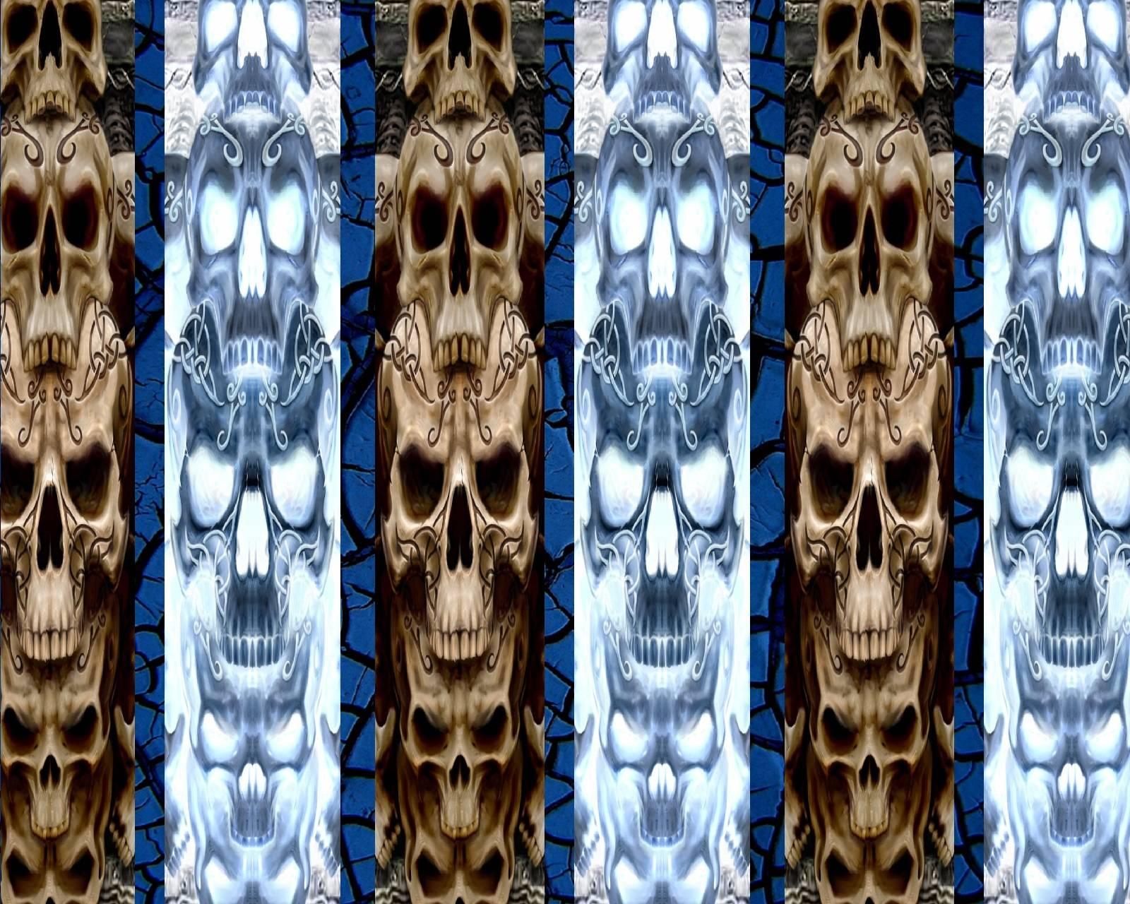 Skull Poles