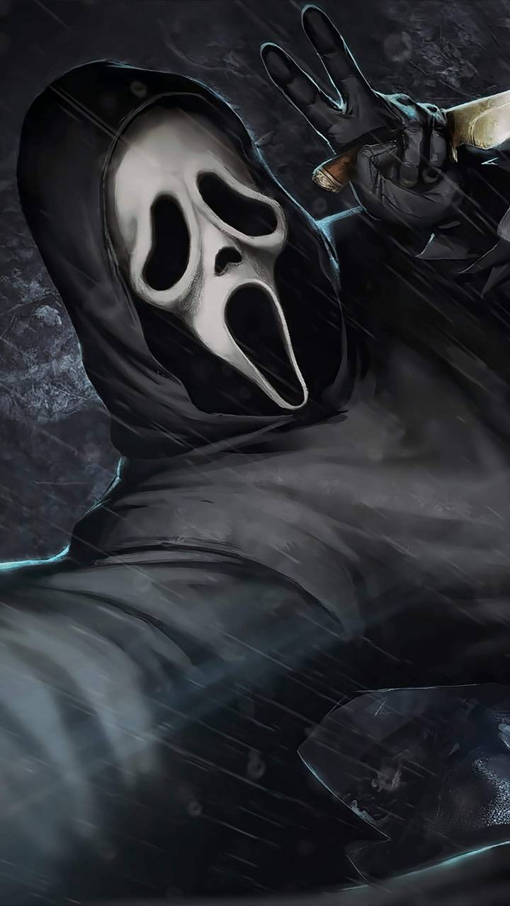 Ghostface Selfie