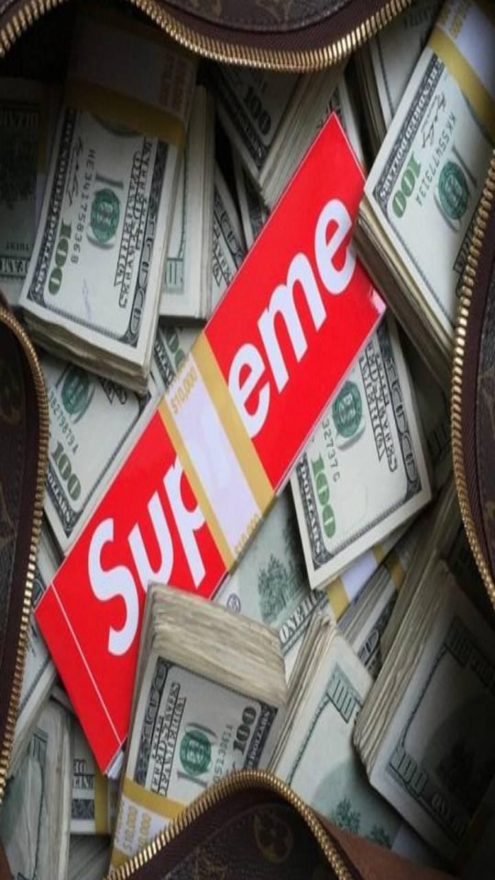 Supreme money bag