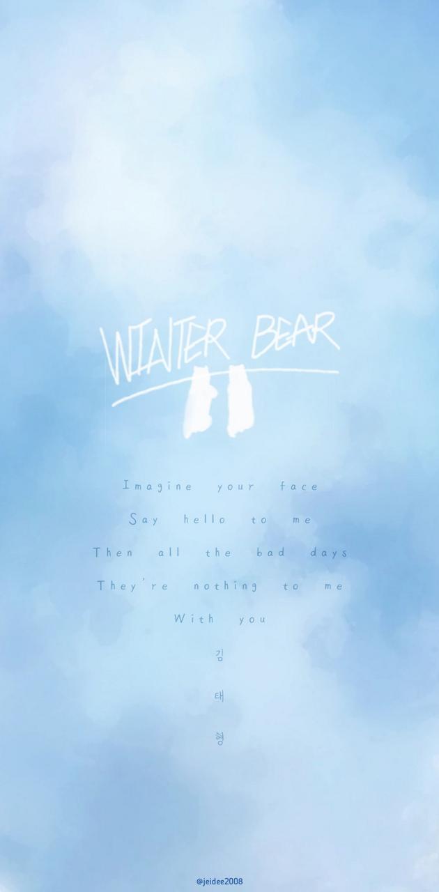 BTS - WINTERBEAR - V