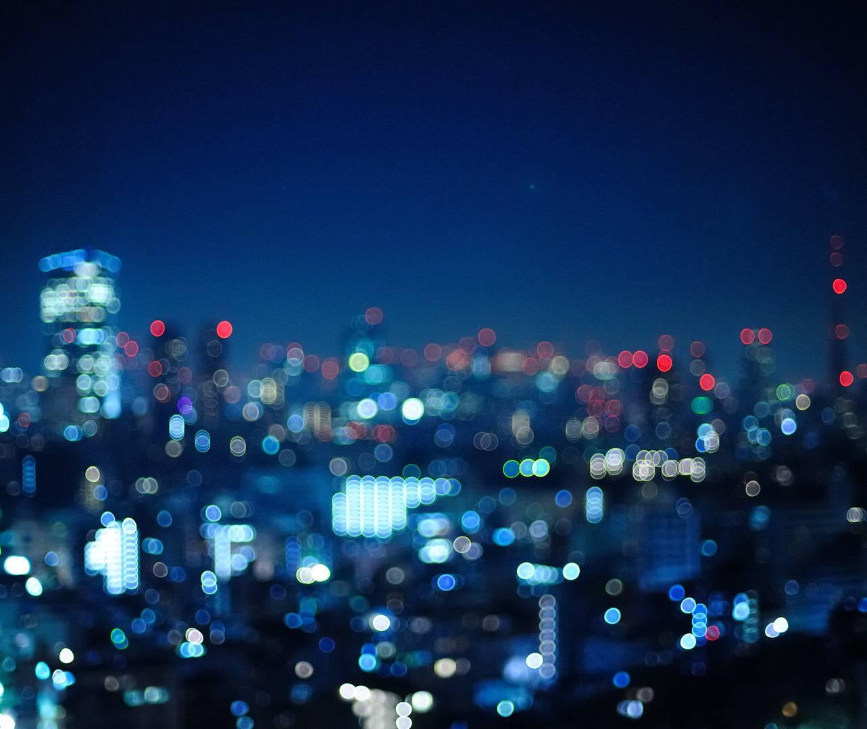 Night City Blur
